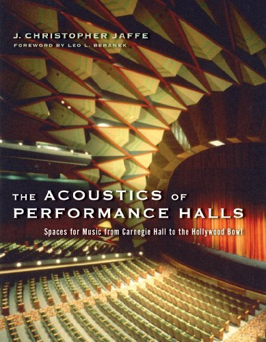 J. Christopher Jaffe The Acoustics Of Performance Halls Spaces For Music From Carnegie Hall To The Hollyw