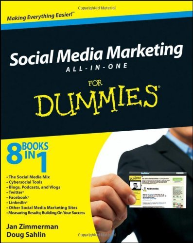 Lena West Social Media Marketing All In One For Dummies