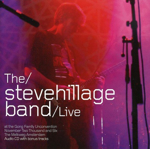 Steve Band Hillage Live At The Gong Unconvention Import Gbr