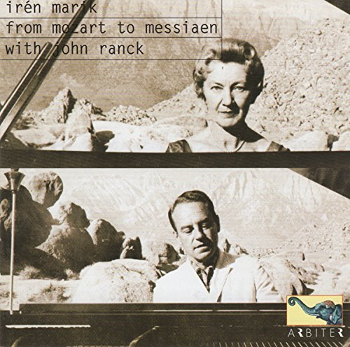Mozart Liszt Messiaen From Mozart To Messiaen Marik (pno)