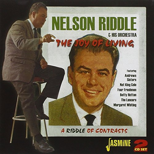 Nelson & His Orchestra Riddle Joy Of Living A Riddle Of Con Import Gbr 2 CD