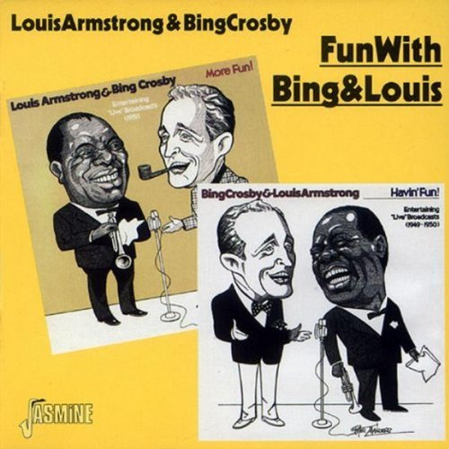 Armstrong Crosby Fun With Bing & Louis 1949 51 Import Gbr