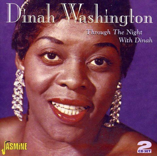 Dinah Washington Through The Night With Dinah 2 CD Set