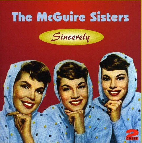 Mcguire Sisters Sincerley 2 CD Set