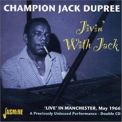 Dupree Champion Jack Jivin' With Jack Live In Manch Import Gbr 2 CD Set