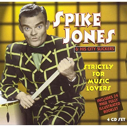 Spike Jones Strictly For Music Lovers Import Gbr 4 CD