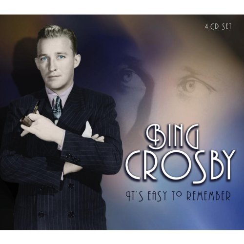 Bing Crosby It's Easy To Remember Import Gbr 4 CD Set
