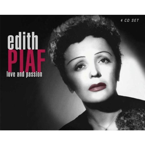 Edith Piaf Love & Passion Import Gbr 4 CD Set