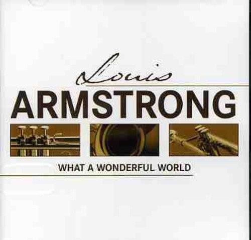 Louis Armstrong What A Wonderful World Import Arg