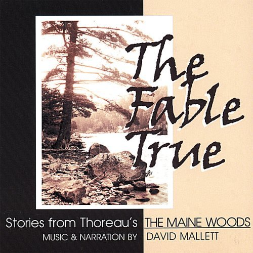 Mallett David Fable True Henry Thoreau's Maine Woods