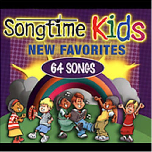 Songtime Kids New Favorites 4 CD