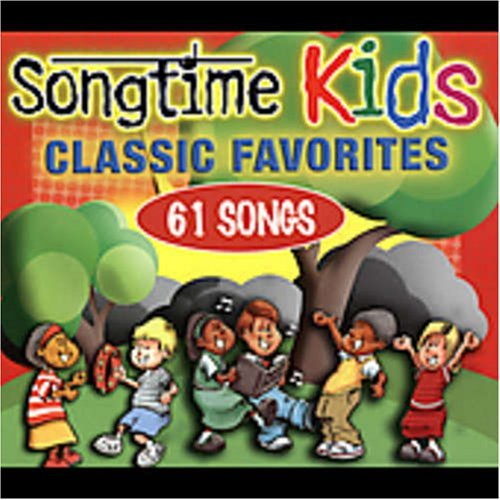 Songtime Kids Classic Favorites 4 CD Set