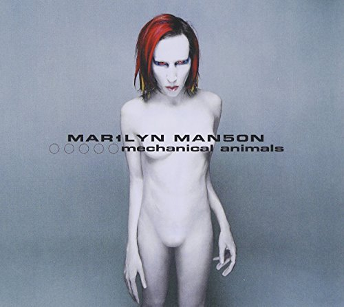 Marilyn Manson Mechanical Animals Explicit Version Clean Cover