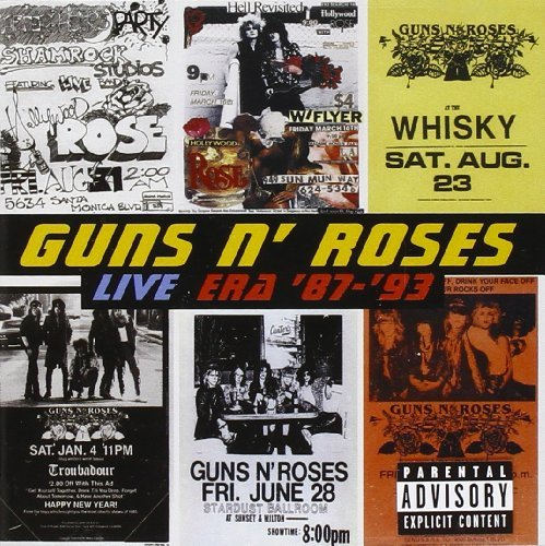 Guns N' Roses Live Era 1987 93 Explicit Version 2 CD