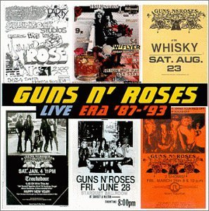 Guns N' Roses Live Era 1987 93 Clean Version 2 CD