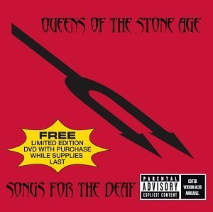 Queens Of The Stone Age Songs For The Deaf Explicit Version Deluxe Version Incl. DVD