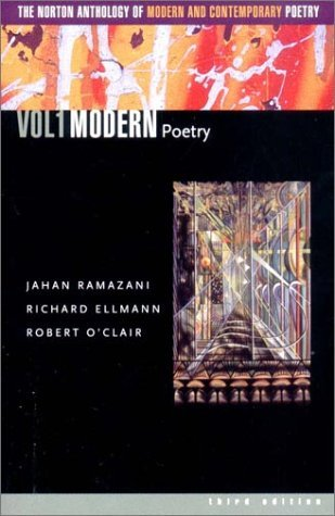 Jahan Ramazani The Norton Anthology Of Modern And Contemporary Po 0003 Edition;