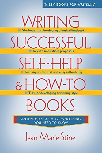 Jean Stine Writing Successful Self Help And How To Books