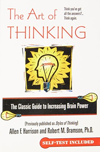 Allen F. Harrison The Art Of Thinking The Classic Guide To Increasing Brain Power