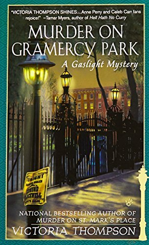 Victoria Thompson Murder On Gramercy Park