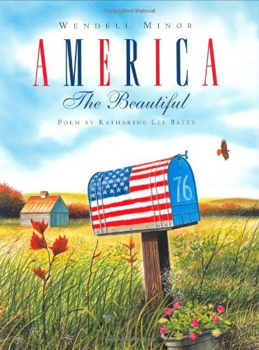 Wendell Minor America The Beautiful Second And