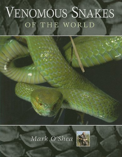 Mark O'shea Venomous Snakes Of The World