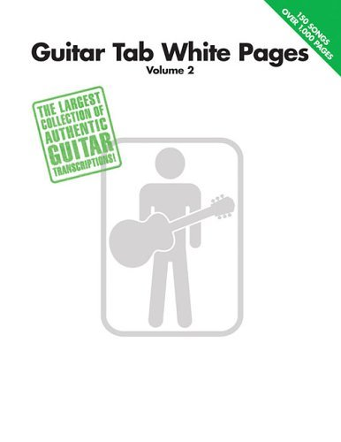 Hal Leonard Corp Guitar Tab White Pages Volume 2