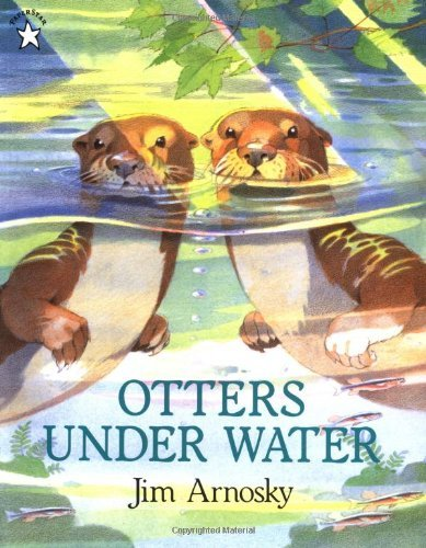 Jim Arnosky Otters Under Water