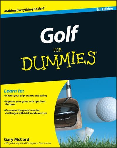 Gary Mccord Golf For Dummies 0004 Edition;revised