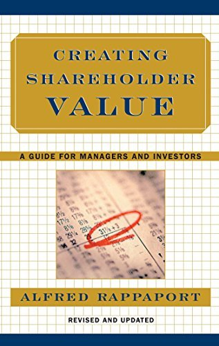 Alfred Rappaport Creating Shareholder Value A Guide For Managers And Investors Updated