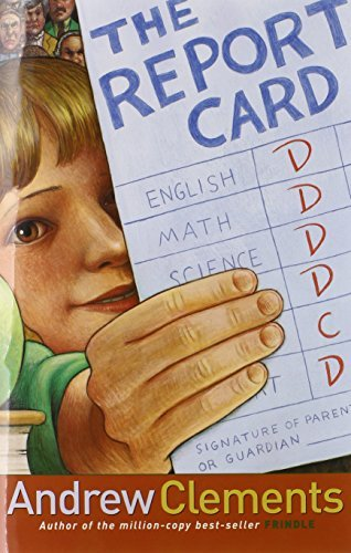 Andrew Clements The Report Card Repackage