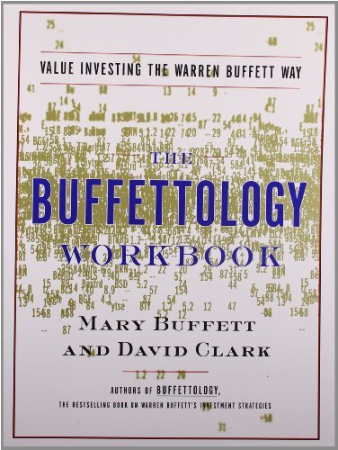 Mary Buffett The Buffettology Workbook The Proven Techniques For Investing Successfully Original
