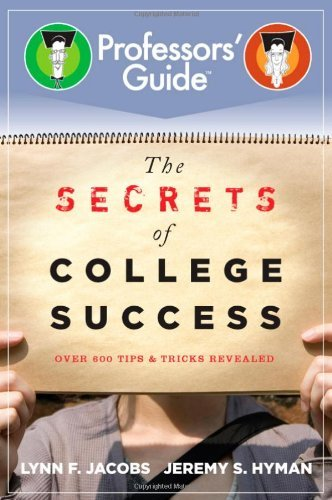 Lynn F. Jacobs Secrets Of College Success The