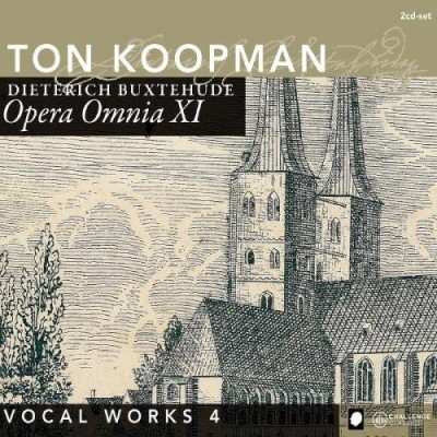 D. Buxtehude Complete Works 11 Vocal 4 Koopman*ton(org Amsterdam Baro