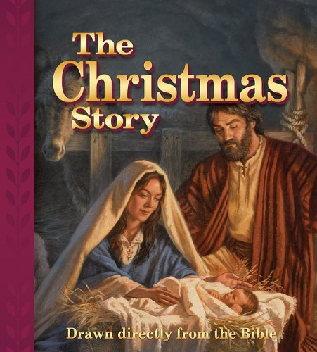 Edward A. Engelbrecht The Christmas Story Drawn Directly From The Bible