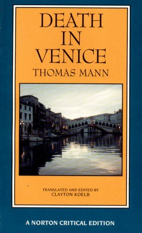 Thomas Mann Death In Venice
