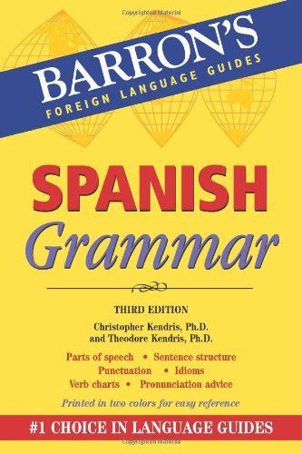 Christopher Kendris Ph. D. Spanish Grammar 0003 Edition;