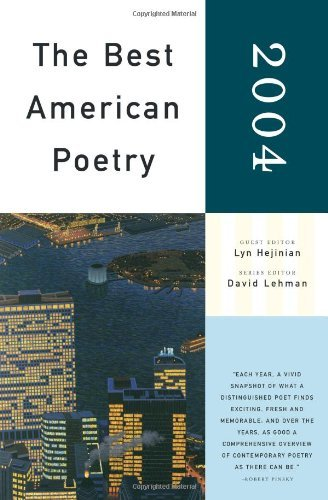 Lyn Hejinian The Best American Poetry 2004