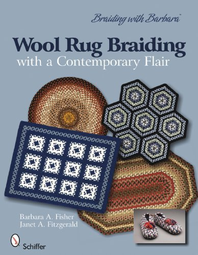 Barbara A. Fisher Wool Rug Braiding With A Contemporary Flair Braiding With Barbara