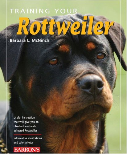 Barbara L. Mcninch Training Your Rottweiler 0002 Edition;