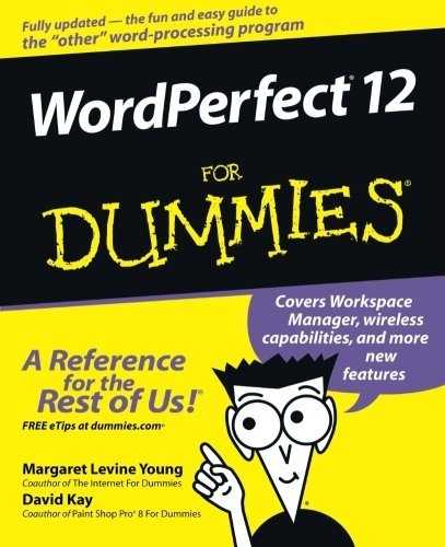 Margaret Levine Young Wordperfect 12 For Dummies