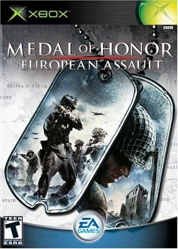 Xbox Medal Of Honor European Assault