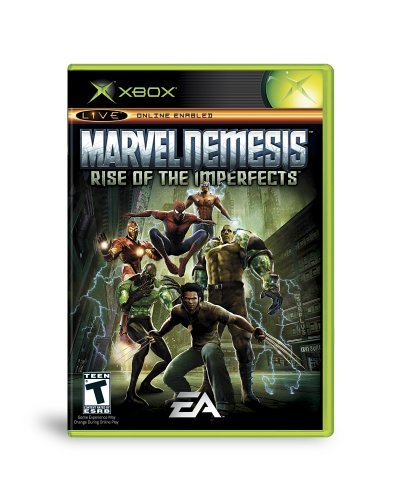 Xbox Marvel Nemesis Rise Of The Imperfects