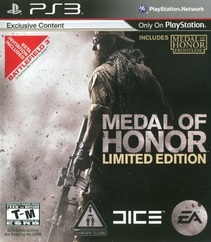 Ps3 Medal Of Honor Limited Edition