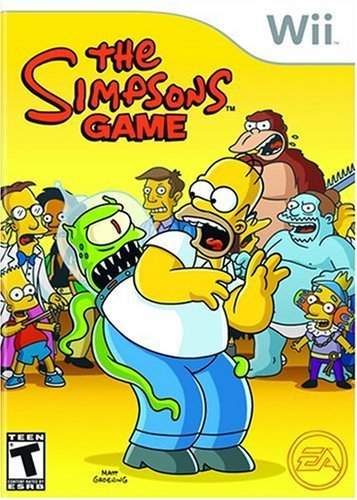 Wii Simpsons