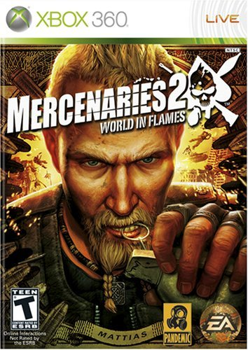 X360 Mercenaries 2 World Flames Rp