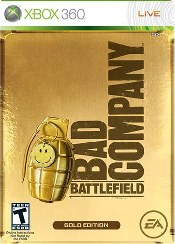 Xbox 360 Battlefield Bad Company Gold E
