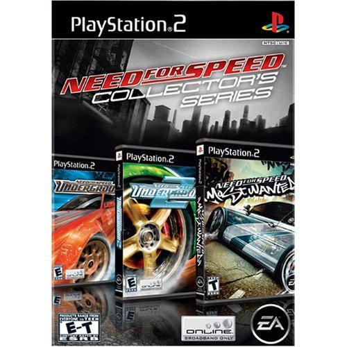 Ps2 Need For Speed Collection Ea