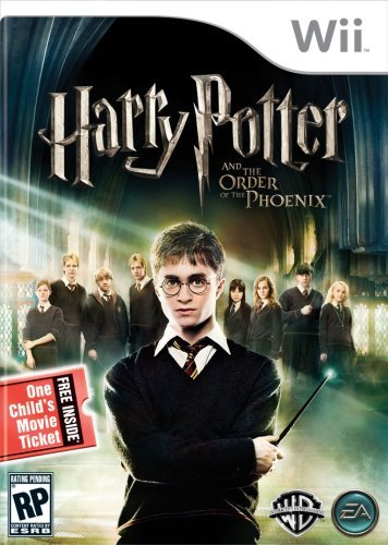 Wii Harry Potter & Order Phoenix