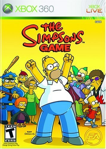 Xbox 360 Simpsons Game